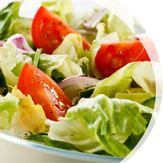 Hausgemachte Salate