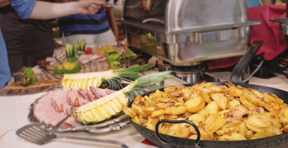 Bratkartoffel-Buffet im Wildpark-Restaurant