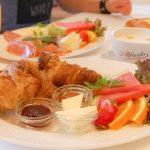 Frühstücks-Buffet im Wildpark-Restaurant